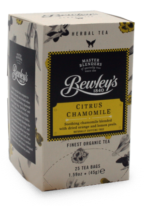 Bewley's Citrus Chamomile Organic Hot Tea