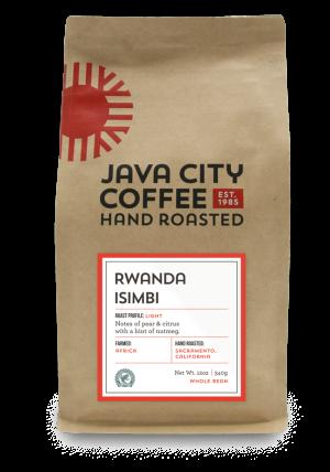 Java City 12oz Rwanda Isimbi