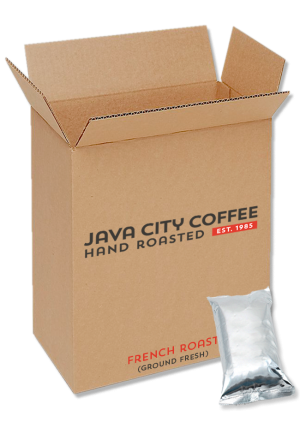 Case of Ground Coffee French Roast 8oz packs