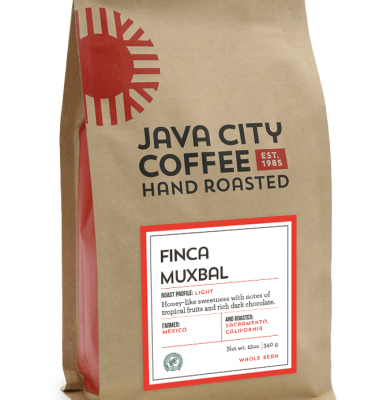 12 oz bag of Java City Coffee Finca Muxbal