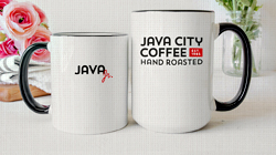 Photo of Two Cups of Java City Coffee
